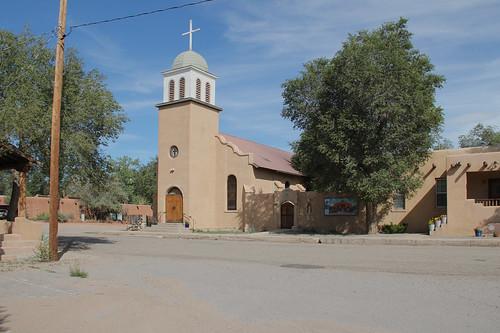 Iglesia San Jose, Los Cerrillos, NM