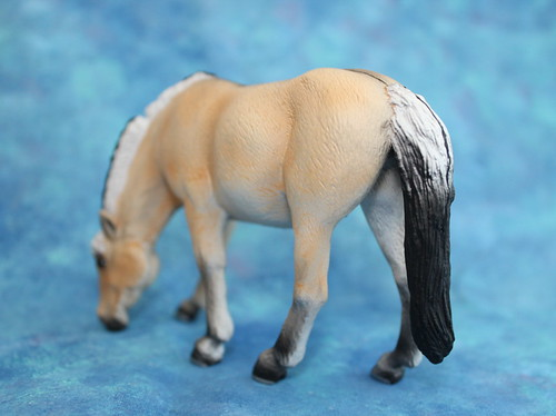 Walkaround of the Mojo Fun Fjord Mare and Comparison with CollectA Fjord Stallion 14712828235_be5c9278d7