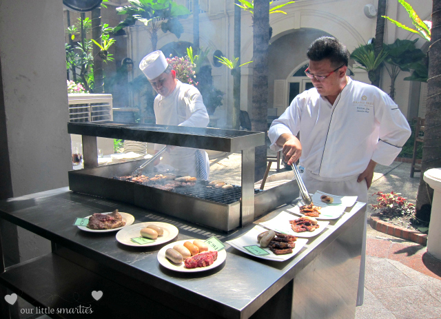 Executive Chef William - the grill expert