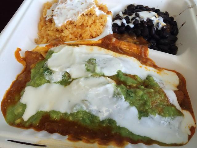 Chicken enchiladas - Rico Mex