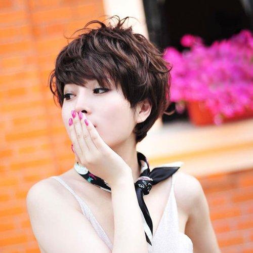 Các kiểu tóc ngắn đẹp! Tóc ngắn ép, uốn xoăn Hàn Quốc 1