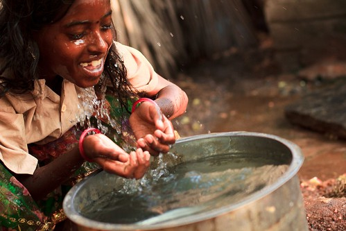 Fund clean water in India