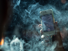 universe, space, smoke, screenshot,