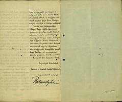 033. Rakovszky István levele IV. Károlynak
