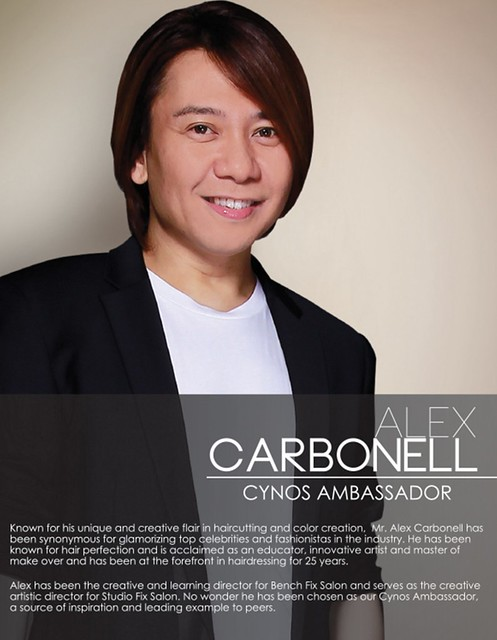 Alex Carbonell Ambassador for Cynos