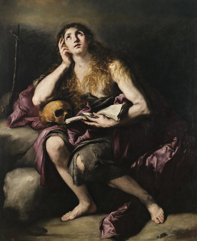 Luca Giordano - La Magdalena penitente (c.1660)