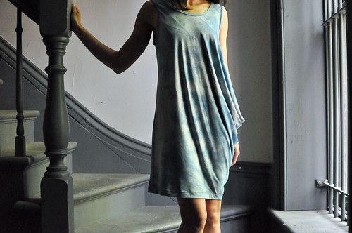 Drape Drape 2 : Indigo Dyed Bamboo Jersey