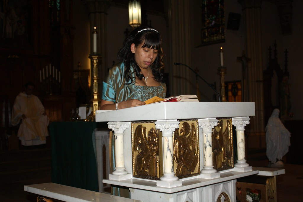 Nancy Reading a Passage