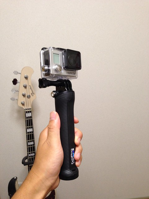 GoPro 3way arm