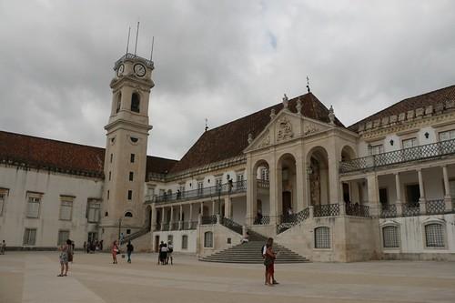 Il cortile dell'università vecchia