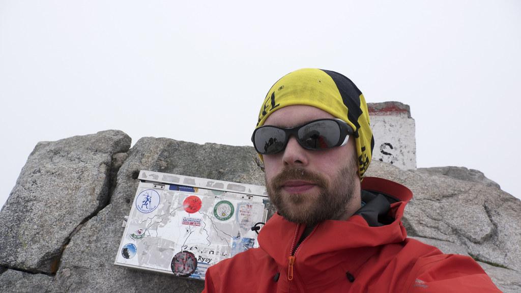 Rysy Summit Selfie