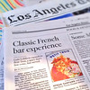"Petit Trois ""First Look"", L.A. Times PRINT"