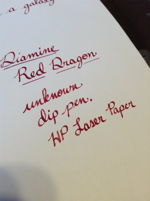 Diamine Red Dragon Goulet Pens