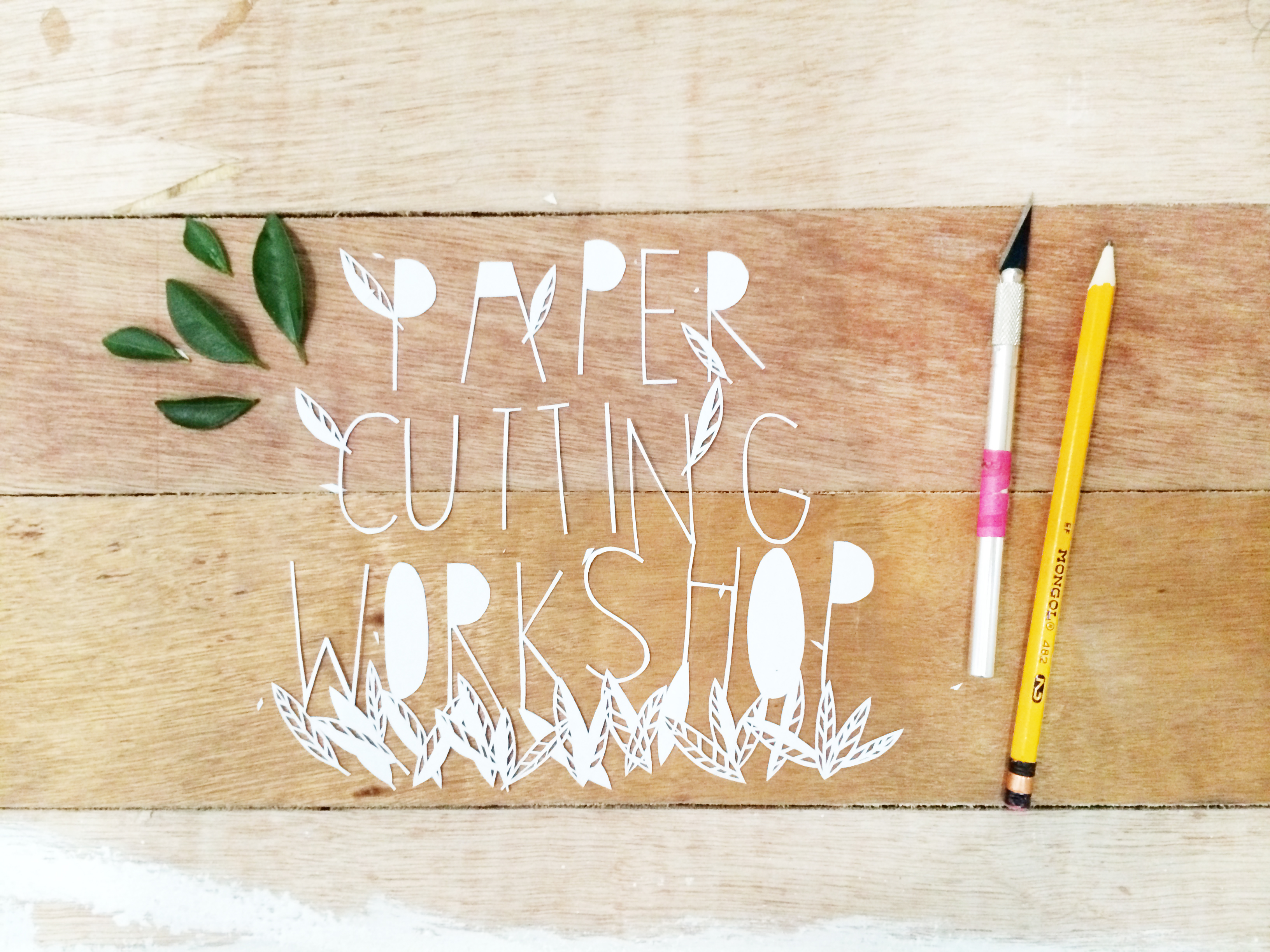 Papercutting Workshop