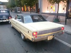 automobile, automotive exterior, vehicle, full-size car, compact car, sedan, ford galaxie, land vehicle,