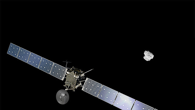 Rosetta arrives at comet from Flickr via Wylio