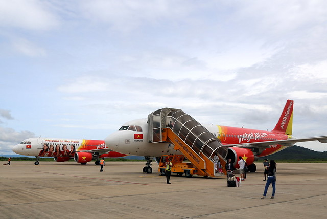 VietJet Air heading back to Ho Chi Minh City