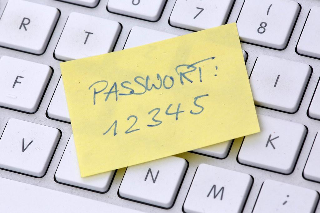 unsicheres Passwort | Tim Reckmann | Flickr