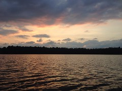 Day Nineteen: another lovely sunset in @Algonquin_PP