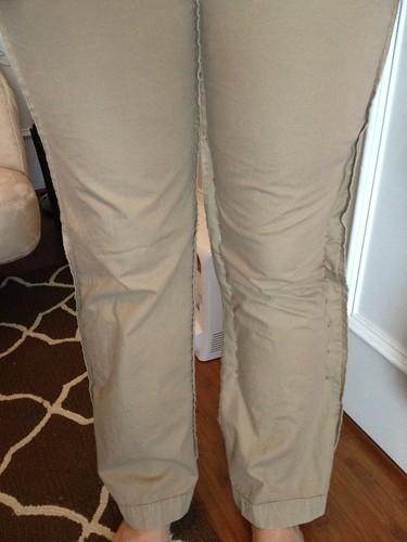 Khaki Skinnies - In Progress