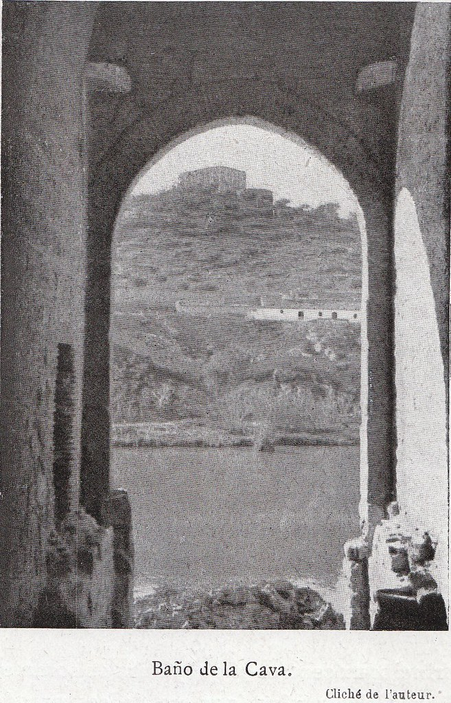 Baño de la Cava a comienzos del siglo XX. Fotografía de Élie Lambert publicada en su libro Les Villes d´Art Célebres: Tolède (1925)