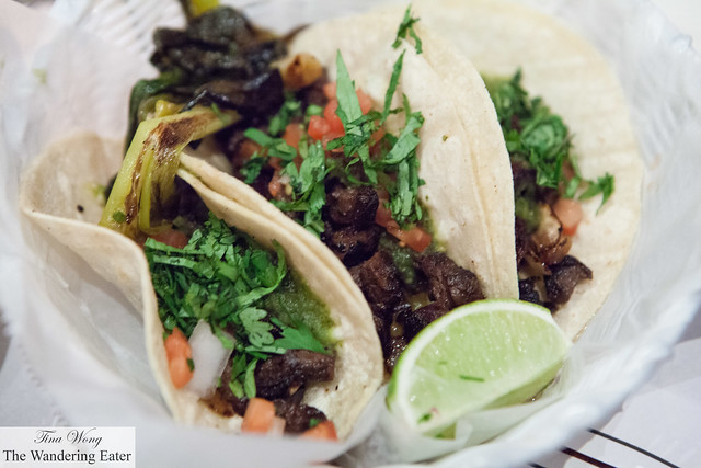 Taco el Jinete (skirt steak tacos)