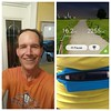 Great long run after a day relaxing with family, food shopping, and up top of a 20ft ladder repairing flashing!  Tried the S - health app on the phone, which is good for walking but underestimated my run.  According to Garmin and also the Wahoo Fitness ap