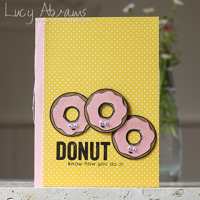 Donut Card by Lucy Abrams