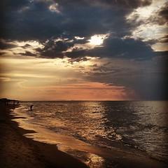 Tramonto di fine estate #tramonto#mare#gargano#Puglia