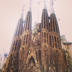 Even after 20year it still impress me. #sagradaFamilia #barcelona