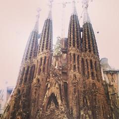 Even after 20year it still impress me. #sagradaFamilia #barcelona
