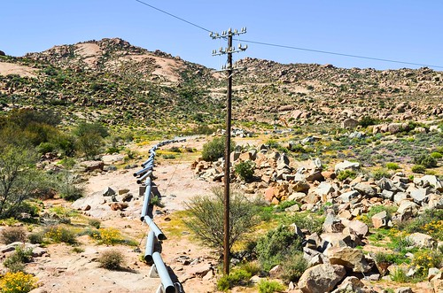 Water pipeline construction from the Orange river to Springbok