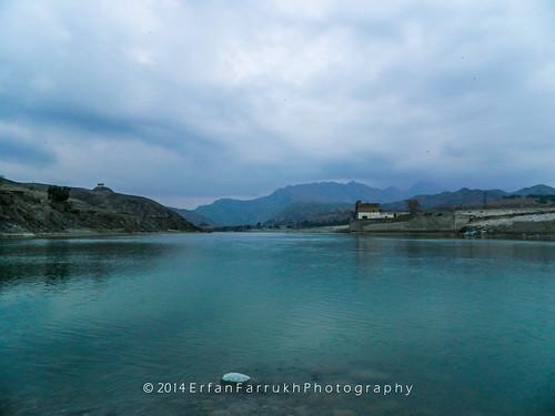 lake river landscape reservoir swat 2014 munda kpk charsadda headworks abazai