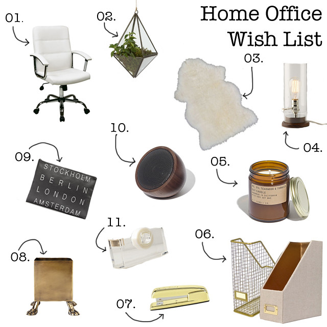 Home Office Wish List