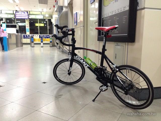 帶單車搭台鐵