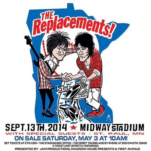 09/13/14 The Replacements @ Midway Stadium, St. Paul, MN