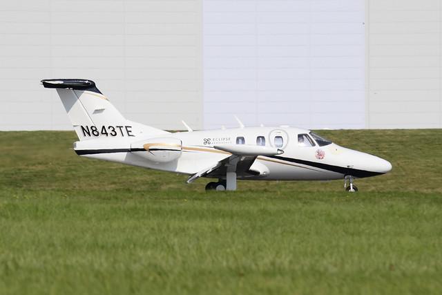 N843TE Eclipse EA500