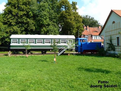 DE-99947 Kirchheilingen Kleinbahnpension im August 2014