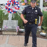 13th Anniversary of September 11th Memorial Service, Edgewater Borough Hall Courtyard, New Jersey