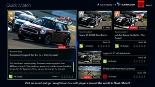 Gran Turismo 6: Quick Match