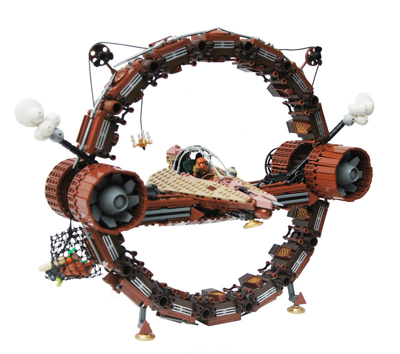 LEGO Star Wars Steampunk - HyperSteam-Ring