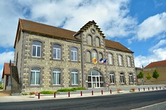 Mairie in Bas et Lezat - Photo of Saint-Priest-d'Andelot