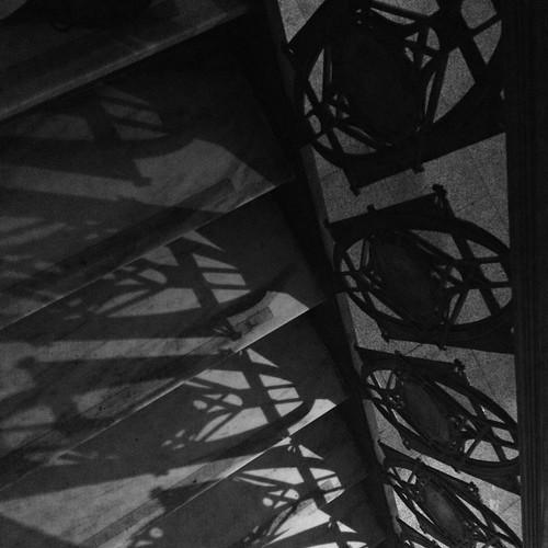 Stairway Shadows by DJ Lanphier
