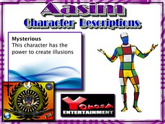 Aasim charater Mysterious