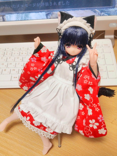 Nekomimi Kimono Maid!!