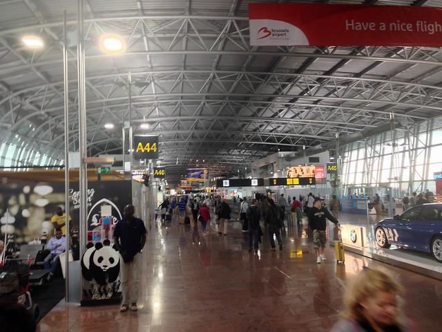 Brussels Airport Departures