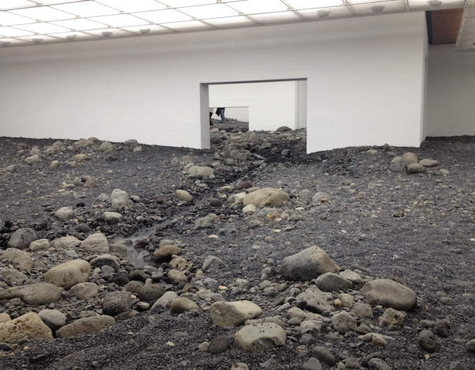 "OLAFUR ELIASSON ""RIVERBED"" at Louisiana Museum in Denmark / courtesy Louisiana and the artist / © Olafur Eliasson / photo © artfridge & Anna-Lena Werner"