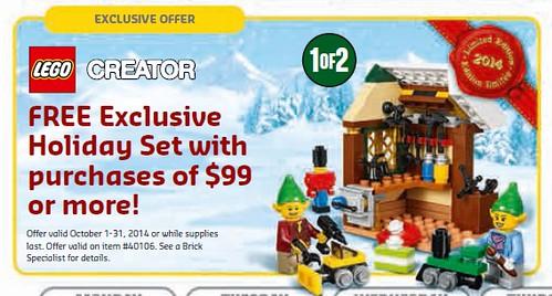 LEGO Creator Holiday Set 1