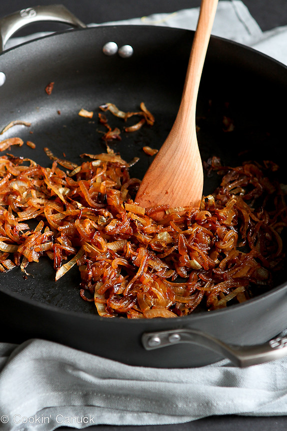 How to: Caramelize Onions | cookincanuck.com #vegan #vegetarian #glutenfree