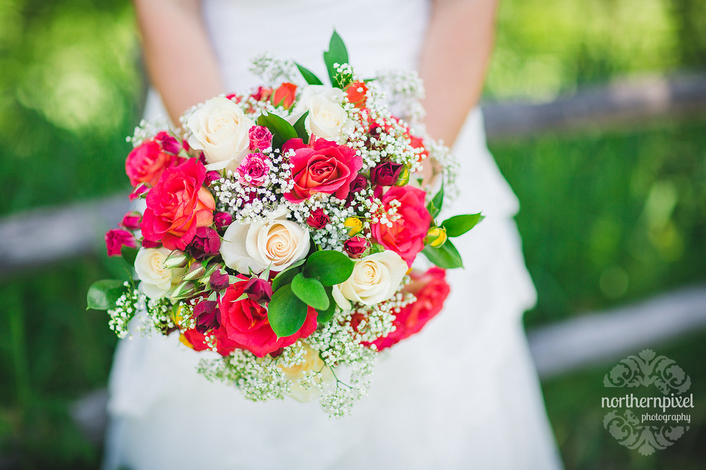 Bridal Bouquet - Prince George BC Wedding